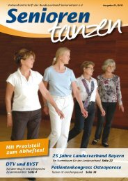 Senioren - Bundesverband Seniorentanz eV