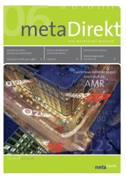 metaCount — das Magazin, Nr. 2 - swb Messung und Abrechnung ...