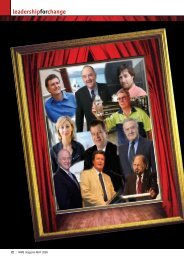 leadershipforchange - WME magazine