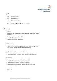 28 augustus: agenda en stukken Algemeen Bestuur