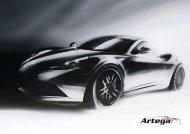 Prospekt 2012 - Artega GT Forum