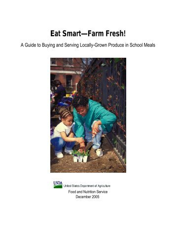 Eat Smart--Farm Fresh - Food and Nutrition Service - US ...
