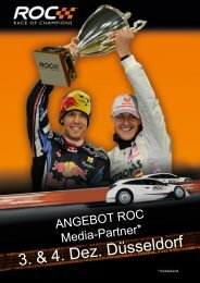 ROC Angebot Media-Partner 2011 - Sports and Business
