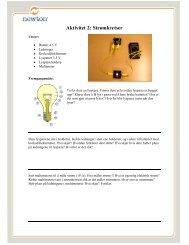 Aktivitet 2: Strømkretser - Newton