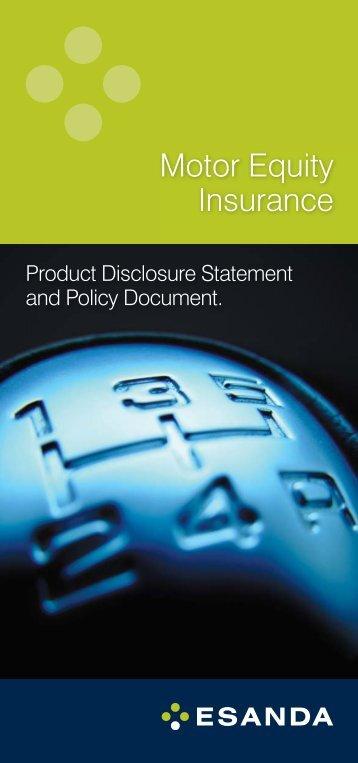 Motor Equity Insurance - Stratton Finance