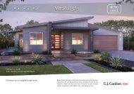 Verona 323 - G.J. Gardner Homes