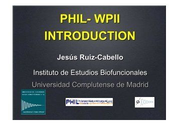 Overview of the WP II work - Phil.ens.fr