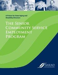 The Senior Community Service Employment Program: A Primer for