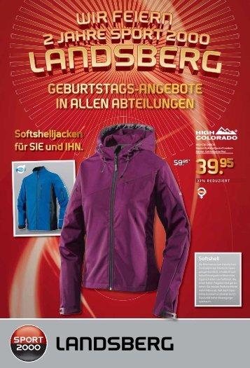19.95 - SPORT 2000 Landsberg