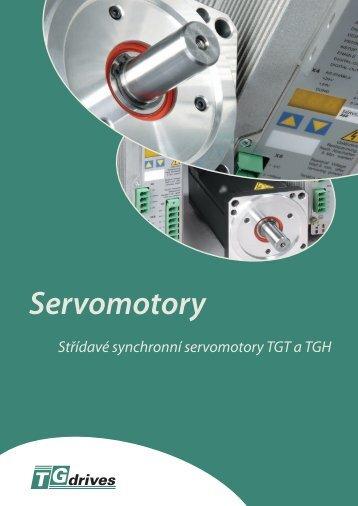 Katalog motorů TGT a TGH - TG Drives