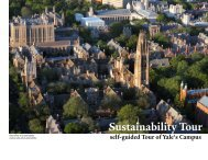 Self-guided tour - Yale University