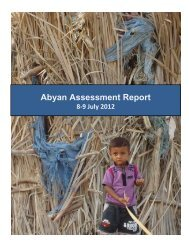 Abyan Assessment Report - Internal Displacement Monitoring Centre