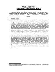 AM_Febrero 2011 - Provias Nacional