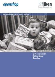 Produktbroschüre Openshop E-Business - GECOS GmbH