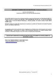 ASSURANCE BUSINESS EXECUTIVE MASTERCARD ... - CIC