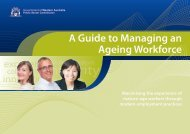 A Guide to Managing an Ageing Workforce - Public Sector ...
