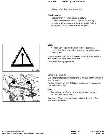 RA Balancing propeller shaft - Ad Kusters