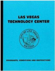 Las Vegas Technology Center Phase 1 - City of Las Vegas