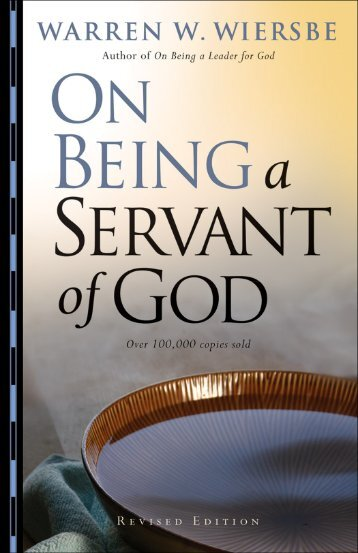 On Being a Servant of God - Dr. David Jeremiah