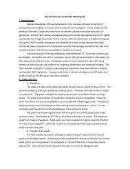 Seed Production of Slender Wheatgrass I. Introduction Slender ...