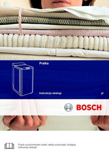 G8683-03 - Notice Bosch WOR16152PL-WOR20152PL - E1 5,5 kg ...