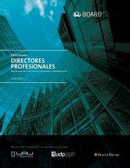 DIRECTORES PROFESIONALES - Universidad Adolfo Ibañez