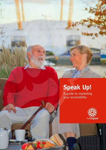 Speak Up! - VisitEngland