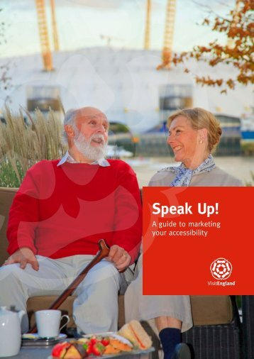 Speak Up! - VisitEngland