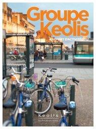 RAPPORT D'ACTIVITÉ 2012 - Keolis