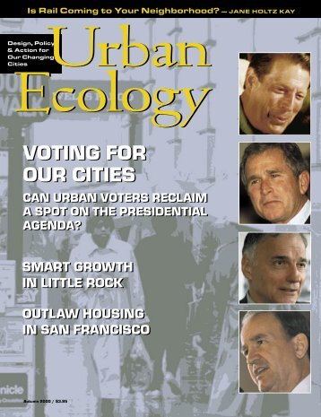 Autumn 2000 - Urban Ecology