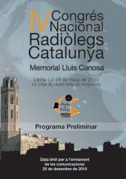 Programa Preliminar