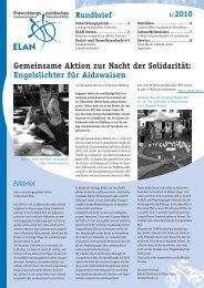 Rundbrief 01/2010 - ELAN