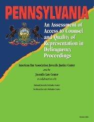 Pennsylvania - National Juvenile Defender Center
