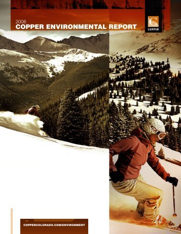 COPPER ENVIRONMENTAL REPORT - Copper Mountain