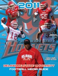Section 1 - Delaware State Athletics