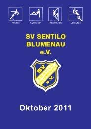 Oktober 2011 - SV Sentilo Blumenau