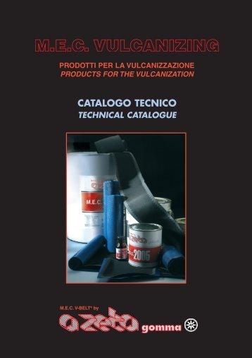 CATALOGO TECNICO - A ZETA Gomma