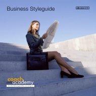 Business Styleguide coach academy - START 2000 Plus