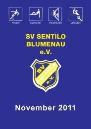 November 2011 - SV Sentilo Blumenau