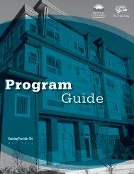 Program Guide - BC Housing
