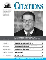 May issue of CITATIONS - Ventura County Bar Association