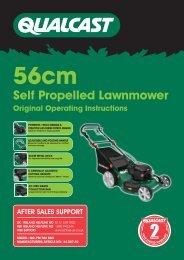 56cm Self Propelled Lawnmower Original Operating ... - Einhell