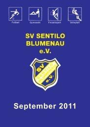 September 2011 - SV Sentilo Blumenau