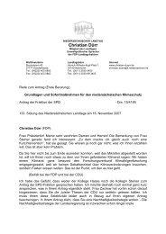 Grundlagen und Sofortmaßnahmen für den niedersächsischen ...