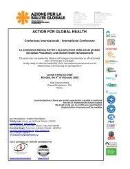 ACTION FOR GLOBAL HEALTH - Aidos
