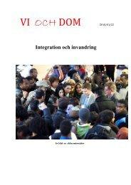 VI OCH DOM 2010/01/22 - Medborgarskolan