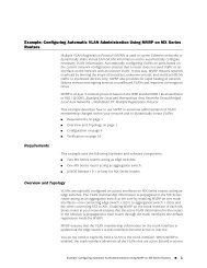 Example: Configuring Automatic VLAN Administration Using MVRP ...