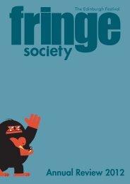 Annual Review 2012 - Edinburgh Festival Fringe
