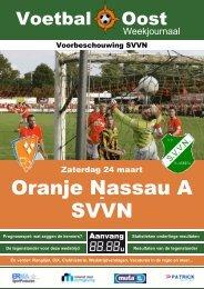 Oranje Nassau A SVVN