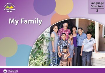 My Family - Oral Language Development - New Teacher Center